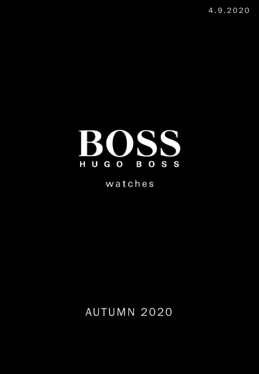 boss syksy 2020 kansi